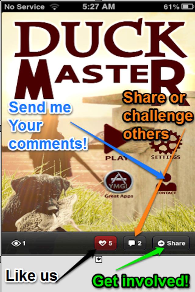 Screenshot Duck Master:The Duck Hunter's ID Quiz Game Lite Version