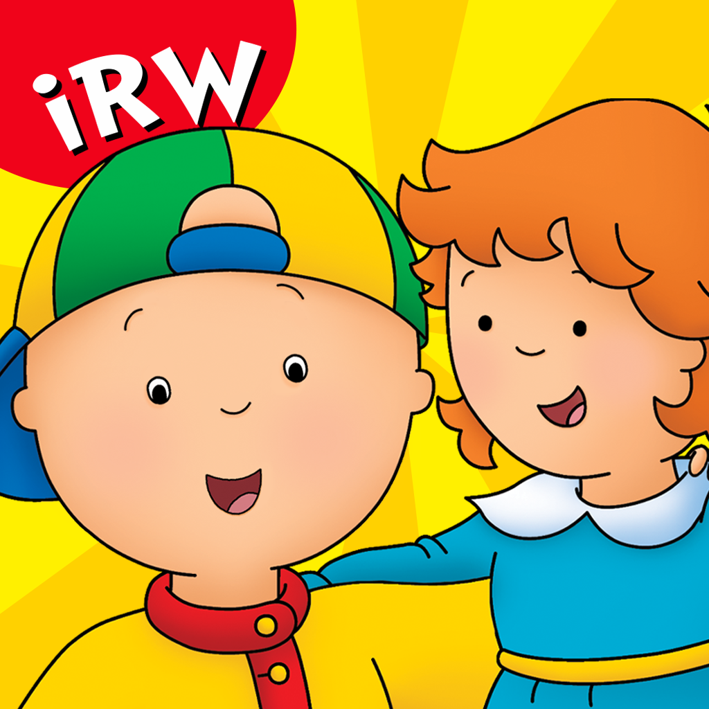 mzl.rrzmmqda iRead With: Caillou: What's That Funny Noise? by Tribal Nova  Review